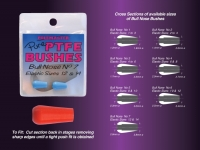 Drennan Pure PTFE Bushes Bull Nose